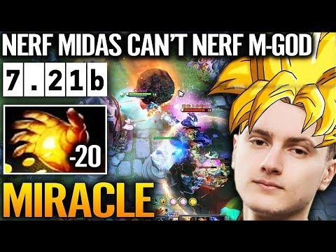 MIRACLE EPIC INVOKER GAMEPLAY 7.21b Update Dota 2 IMBA Hero META thumbnail