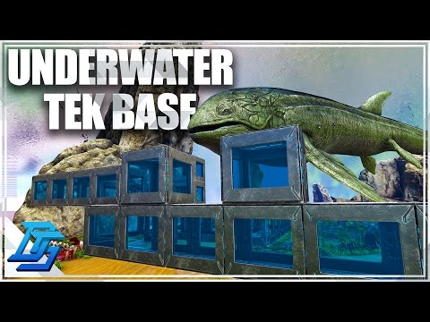UNDERWATER TEK BASE BUILDING , TEK GENERATOR - ARK: Survival Evolved