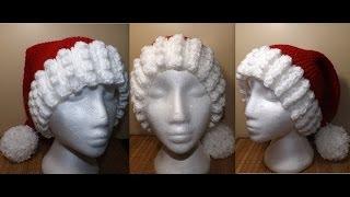 Crochet Santa's Hat