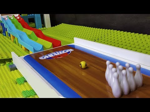 Marble Bowling WORLD Championships 2018 Part 1/2 -  Toy games -