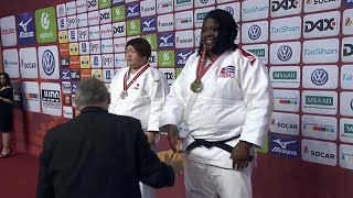 La judoca cubana Idalys Ortiz medalla de oro en el Grand Slam de Düsseldorf