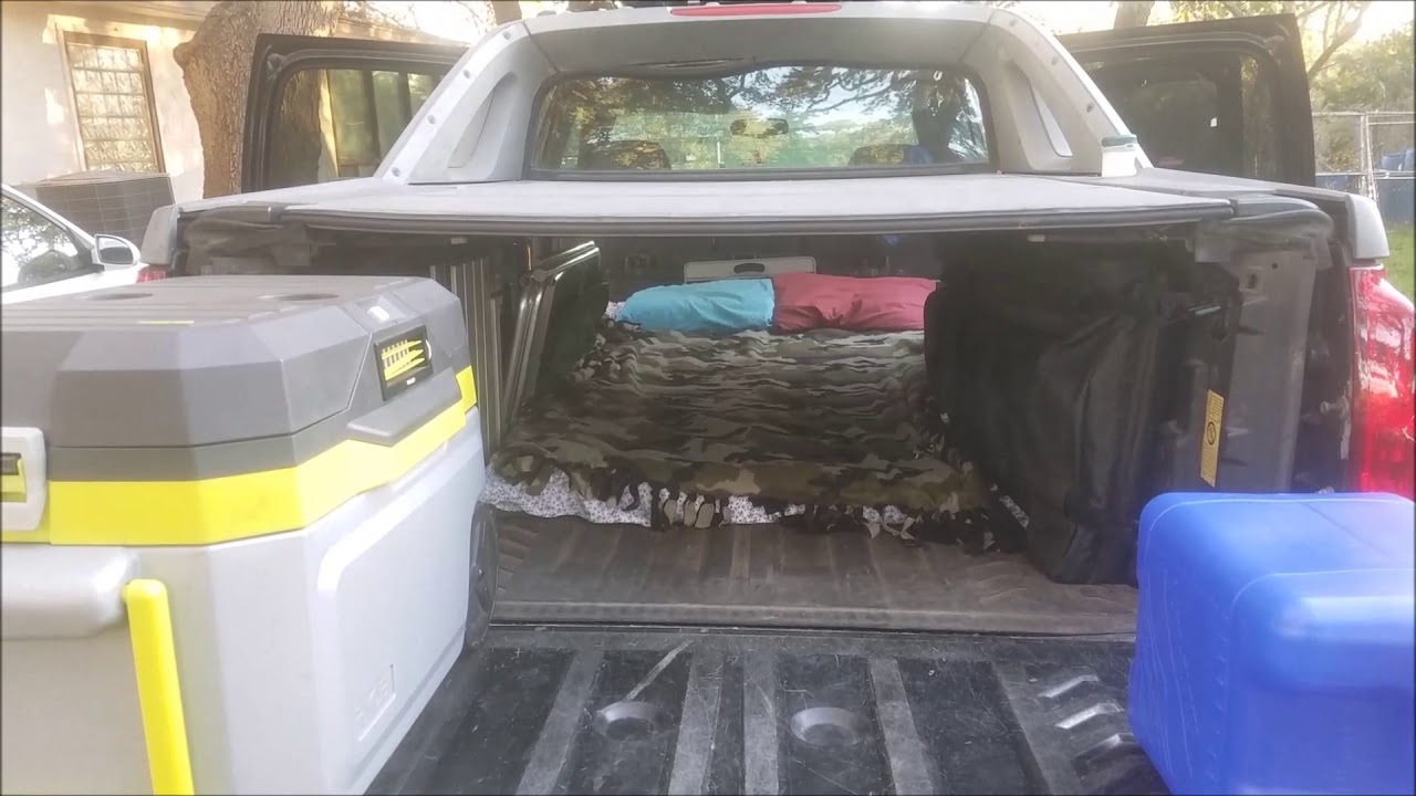 Chevy Avalanche Stealth Camping Setup Youtube