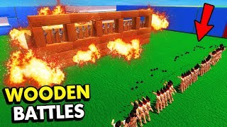 CRAZY NEW GRENADIER UNIT IN WOODEN BATTLES (Wooden Battles Funny Gameplay)