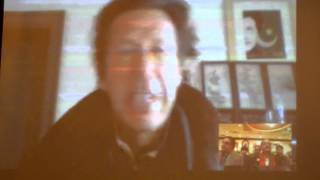 PTI chief Imran Khan Live Via Skype in Chicago Part 1