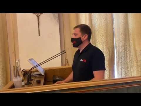 PressClub Lviv: Виступ Владислава Орлова на сесії Львівської облради.