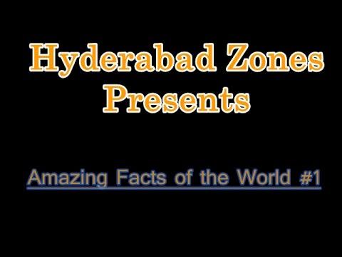 10 Amazing Fact of the World #1   Hyderabad Zones