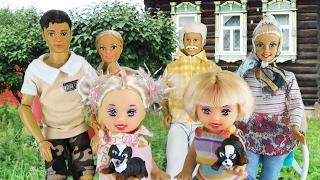 Мультик Маша и Катя в деревне Видео Игры с куклами Штеффи и игрушками для девочек