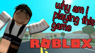 WHY AM I PLAYING THIS GAME?? Roblox funny moments