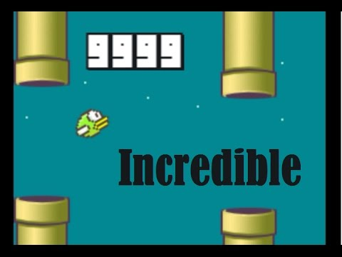 Incredible 9999 Points (Flappy Bird)