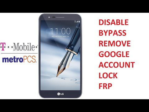 Disable Bypass Remove Google Account Lock FRP on T-Mobile or Metro