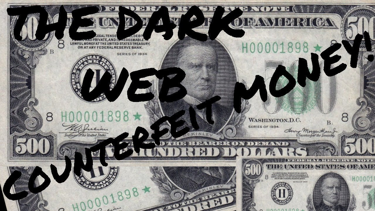 COUNTERFEIT MONEY ON THE DARK WEB PART 2