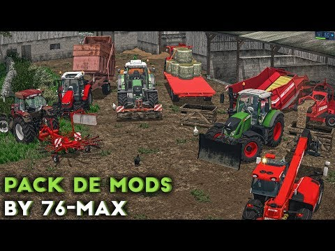 [PREVIEW] Farming Simulator 17 - Mod Pack By 76-Max