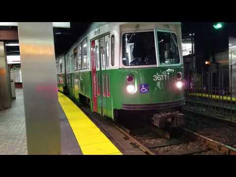 MBTA Greenline - the November 2017 cut