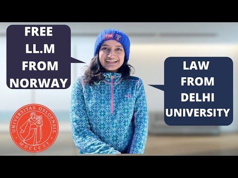 LLM MASTER OF LAW FROM NORWAY   UNIVERSITY OF OSLO   STUDY FREE IN NORWAY