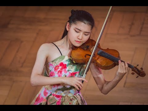 Mone Hattori (Japan) - Stage 2 - International H. Wieniawski Violin Competition STEREO