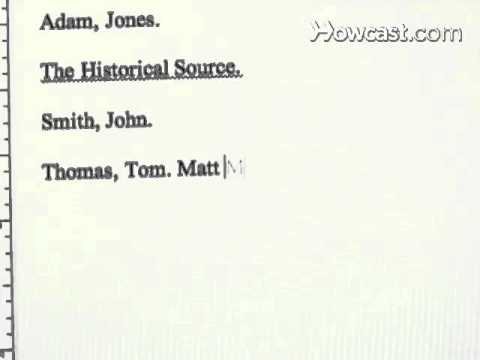 How To Write A Bibliography  Youtube How To Write A Bibliography