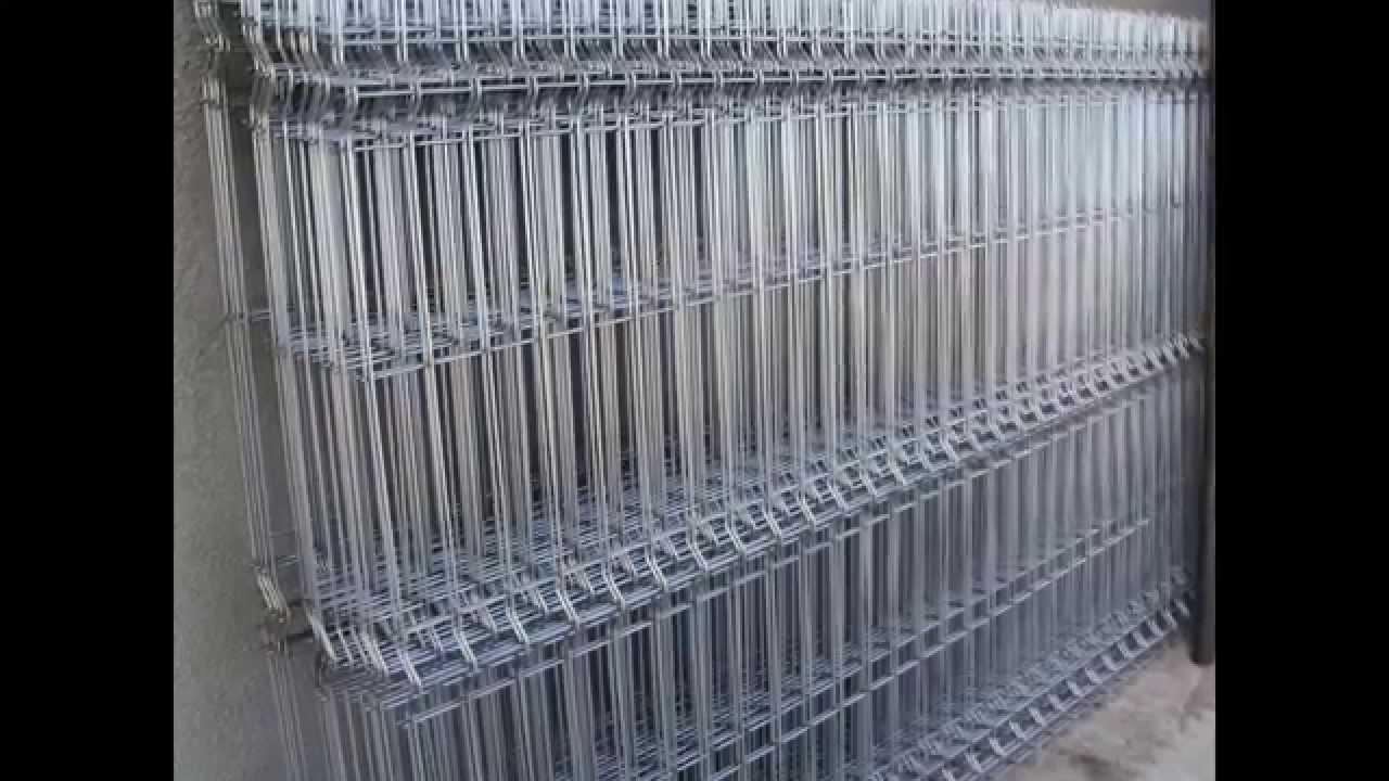 Panouri Gard Bordurate Zincate Est Metalcab Youtube