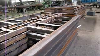 видео Изготовление металлоконструкций под заказ