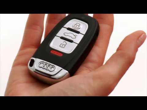 audi advanced key - YouTube