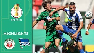Ibisevic & Berlin in great shape | Eichstätt vs. Hertha BSC 1-5 | Highlights | DFB Cup | 1st Round