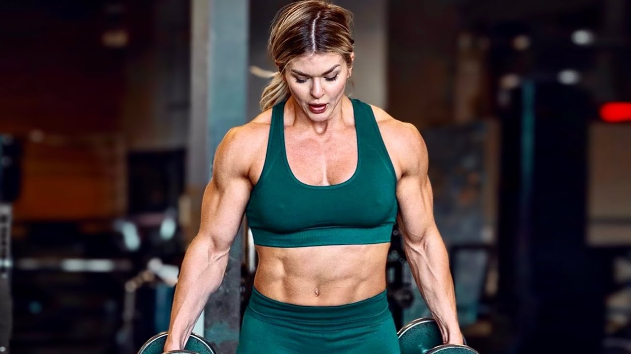BROOKE ENCE – Beauty With Muscles – Female Fitness Motivation 2021
