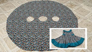 Baby girl frock cutting and stitching | latest frock design 2020