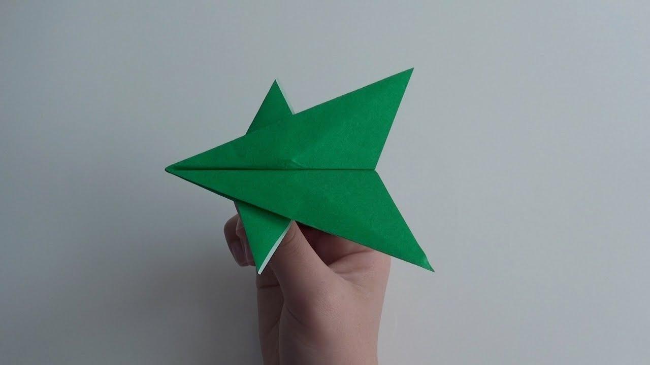 飛ぶ 紙 飛行機 折り紙 2〜3分で完成! よく飛ぶ紙飛行機の作り方