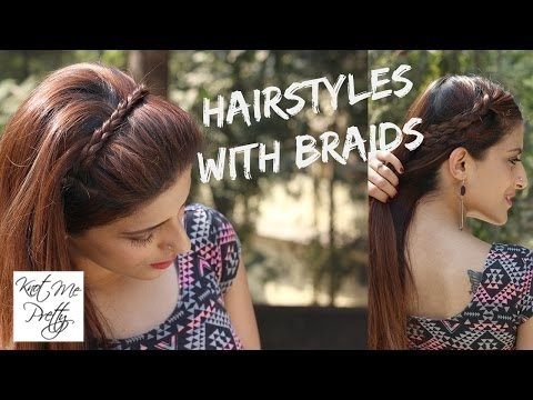 Cute And Easy Hairstyles With Braids | EASY Braid Tutorial | Back To School