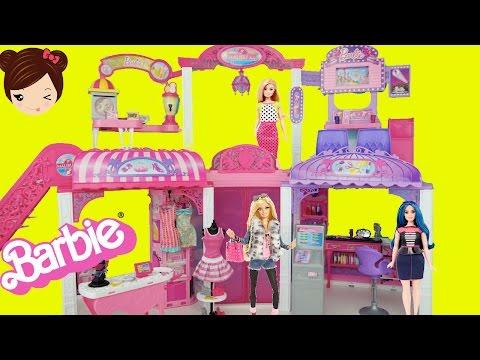 Barbie Centro Comercial de Malibu - Salon de Belleza Cine y Boutique de Moda