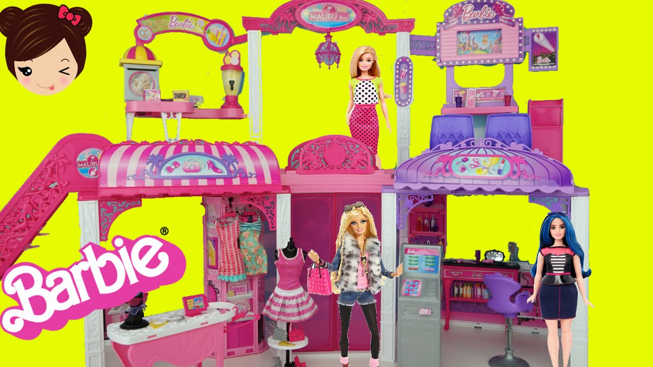 Moda Belleza Cine Barbie Y Boutique Salon Centro Comercial De Malibu 45ARjLq3