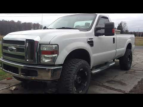 #1 BRANDON'S 2010 F250! WE CONVERTED THIS TRUCK FROM 2WD TO 4WD!