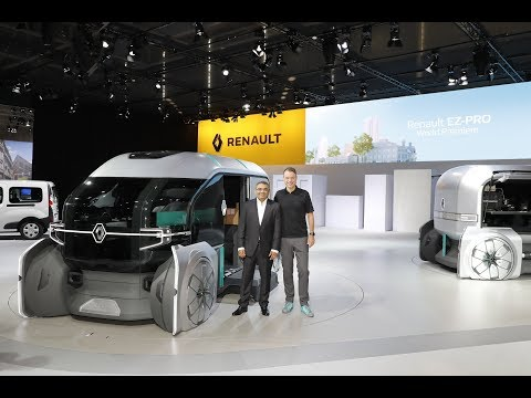 Renault press conference - Hannover LCV Motor Show 2018 – Re