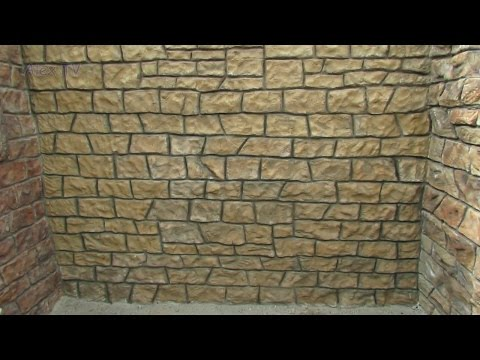 Modellbau Garten Gestaltung Felsen Mauer Selber Bauen