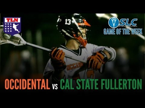 SLC D2 Playoff: CSU Fullerton vs  Occidental