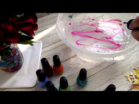 Tie dye upcycle glass jar vase diy crafts for kid youtube for Crafts to make with glass jars