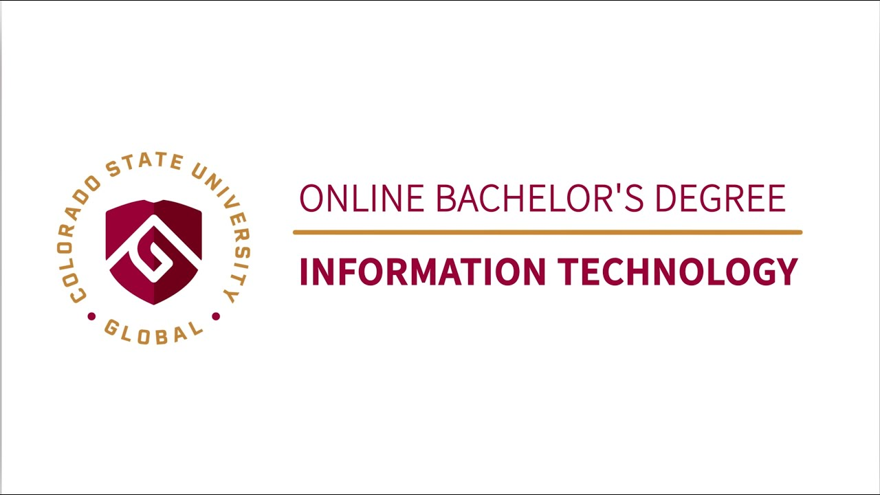 Online Bachelor S Degree In Information Technology