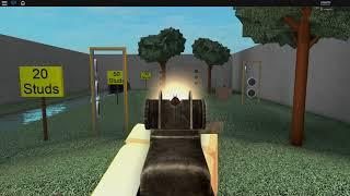 Roblox WWII - Gun Testing