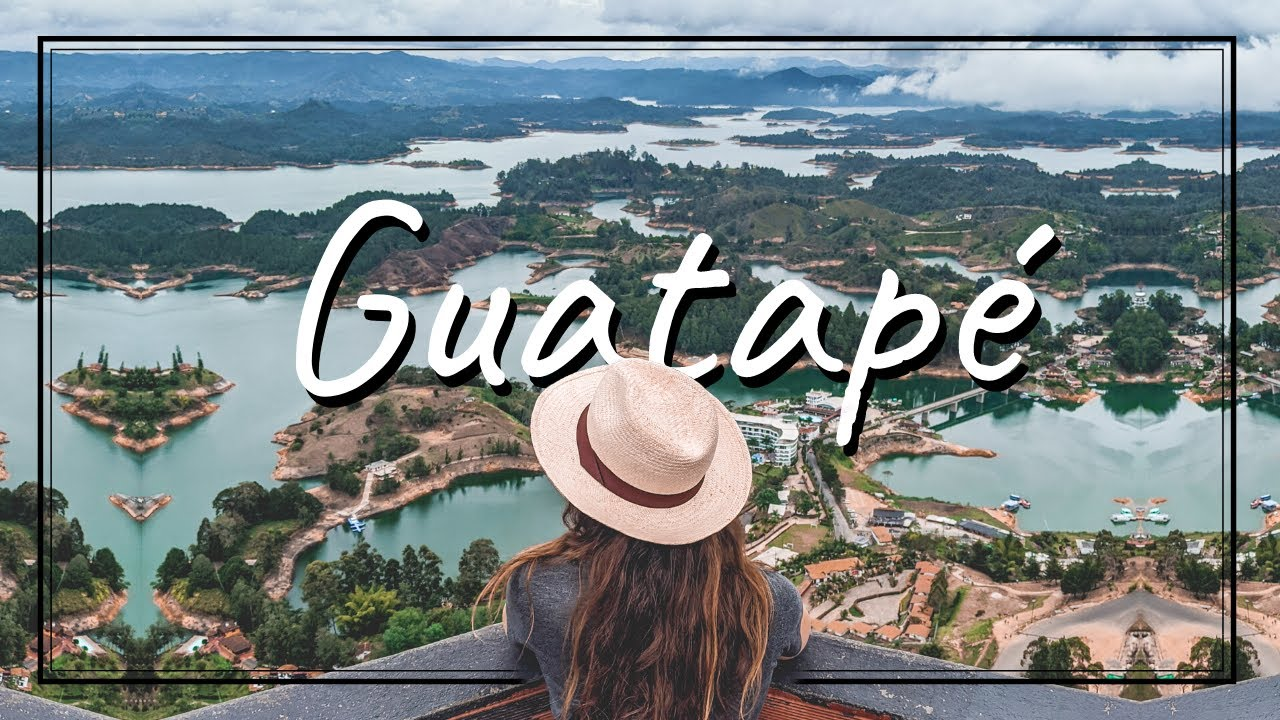 The Best View In The World - Guatape, Colombia
