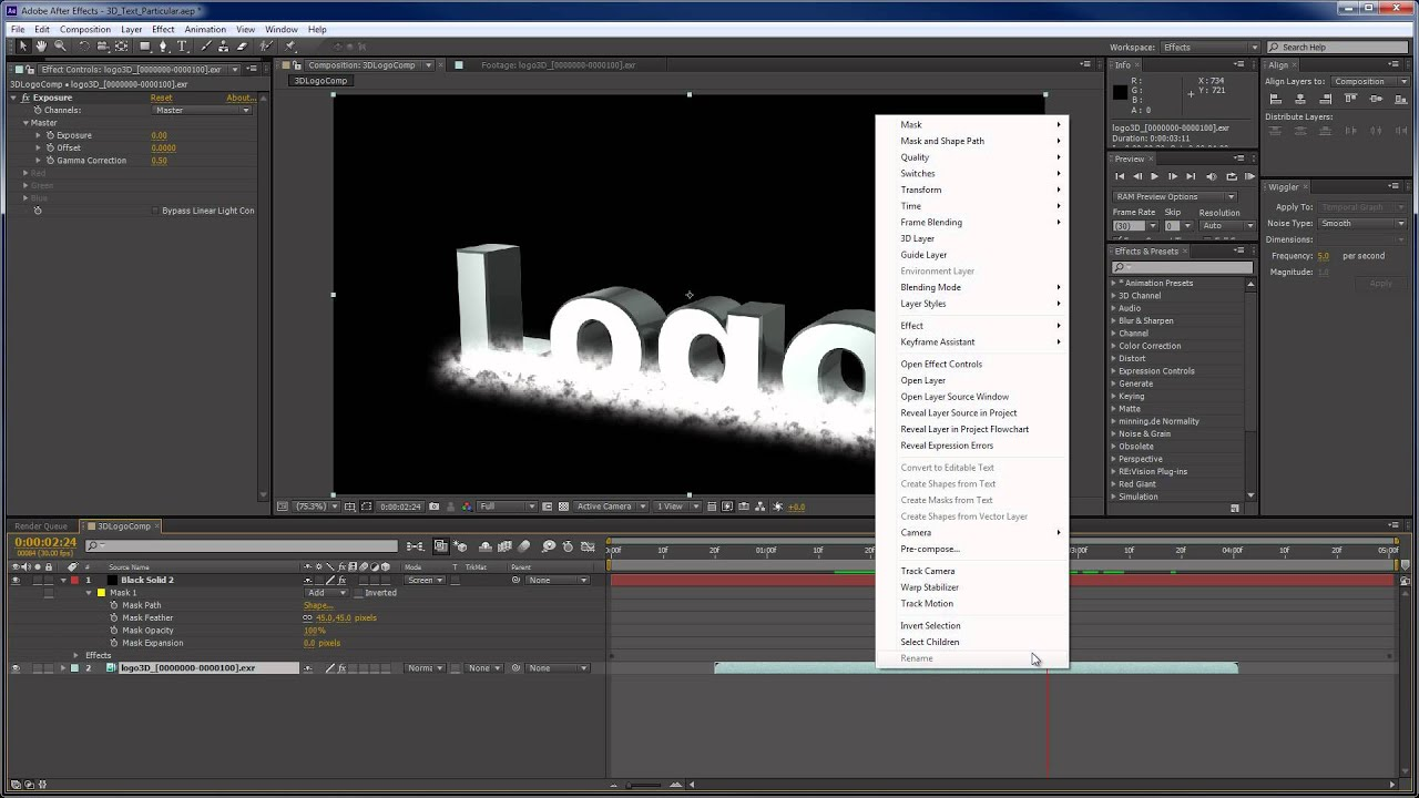 Using Text effects in After Effects - Adobe