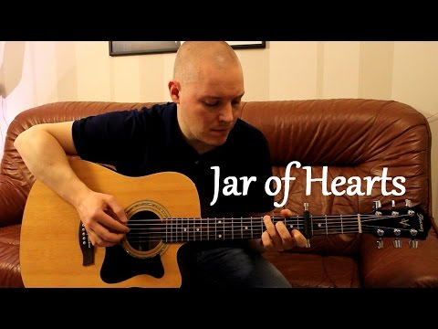 how to play jar of hearts on guitar