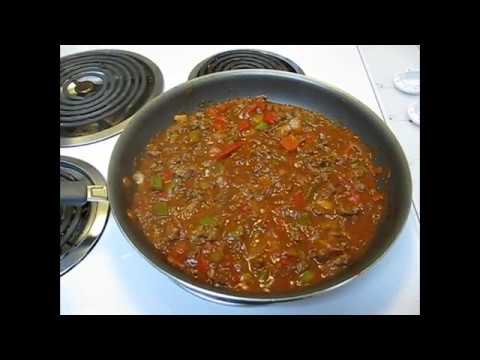 Epic All American Sloppy Joes Super Bowl DIY Recipe Old Fashioned Classic Homemade