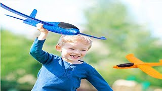 Design Making a EPP Foam Hand Throwing Flying Aircraft Glider Airplanes Planes Toy