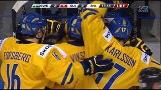 IIHF World U20 Championship 2013: Sweden - Switzerland