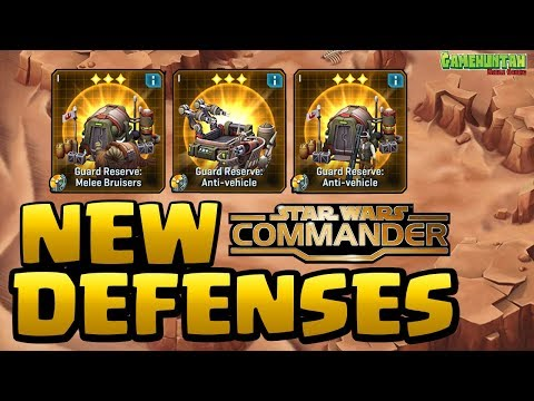 NEW GUARD RESERVES BUILDING - Star Wars Commander Rebels #61