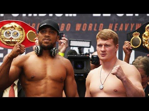LIVE PREVIEW! Anthony Joshua vs Alexander Povetkin 🥊