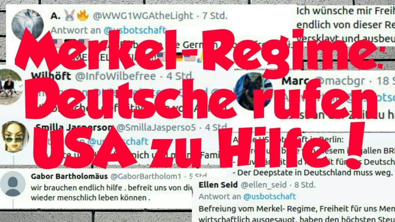 Gerhard Wisnewski - Merkel-Regime: Deutsche rufen USA zu Hilfe!