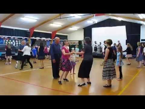 Jig to the Music, St Andrew's Day Ceilidh at Redwood School hall, Tawa