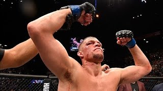 UFC 196: Nate Diaz and Conor McGregor Octagon Interview
