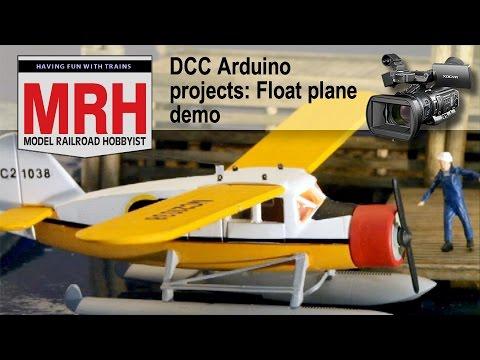 DCC Float Plane demo model trains | March 2017 Model Railroad Hobbyist | Geoff Bunza