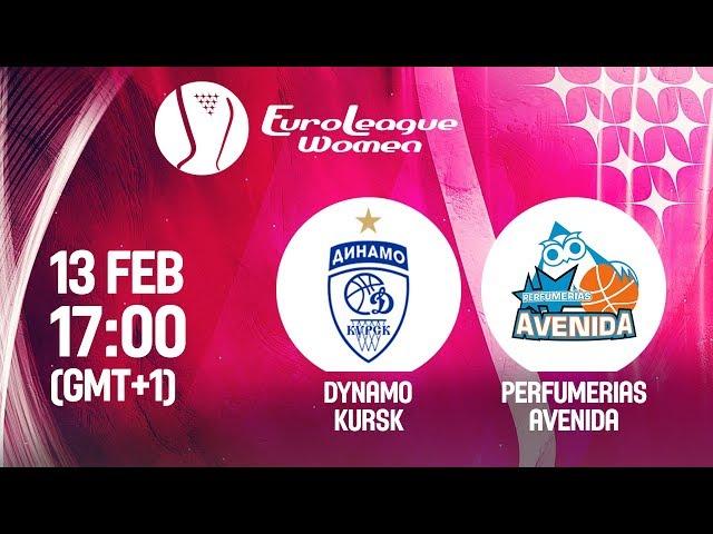 LIVE 🔴 - Dynamo Kursk v Perfumerias Avenida - EuroLeague Women 2019